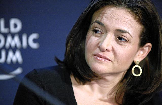 1- Sheryl Sandberg / Facebook