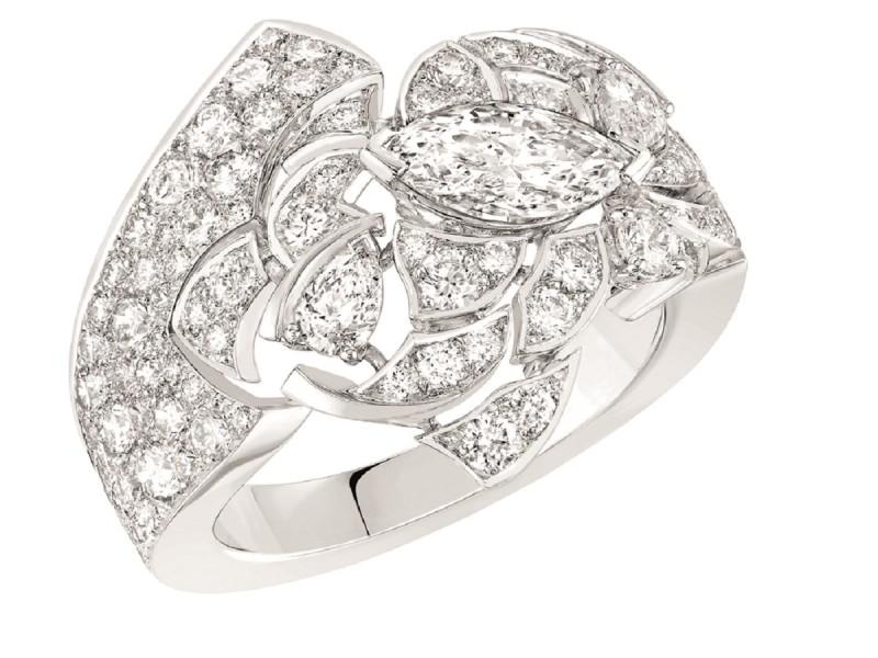 BAGUE JEANNE diamants