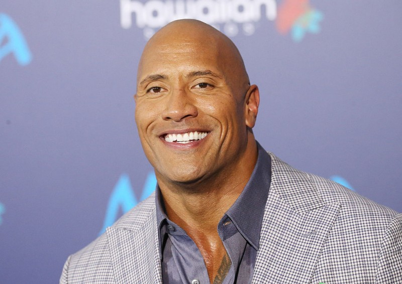 #1 Dwayne Johnson