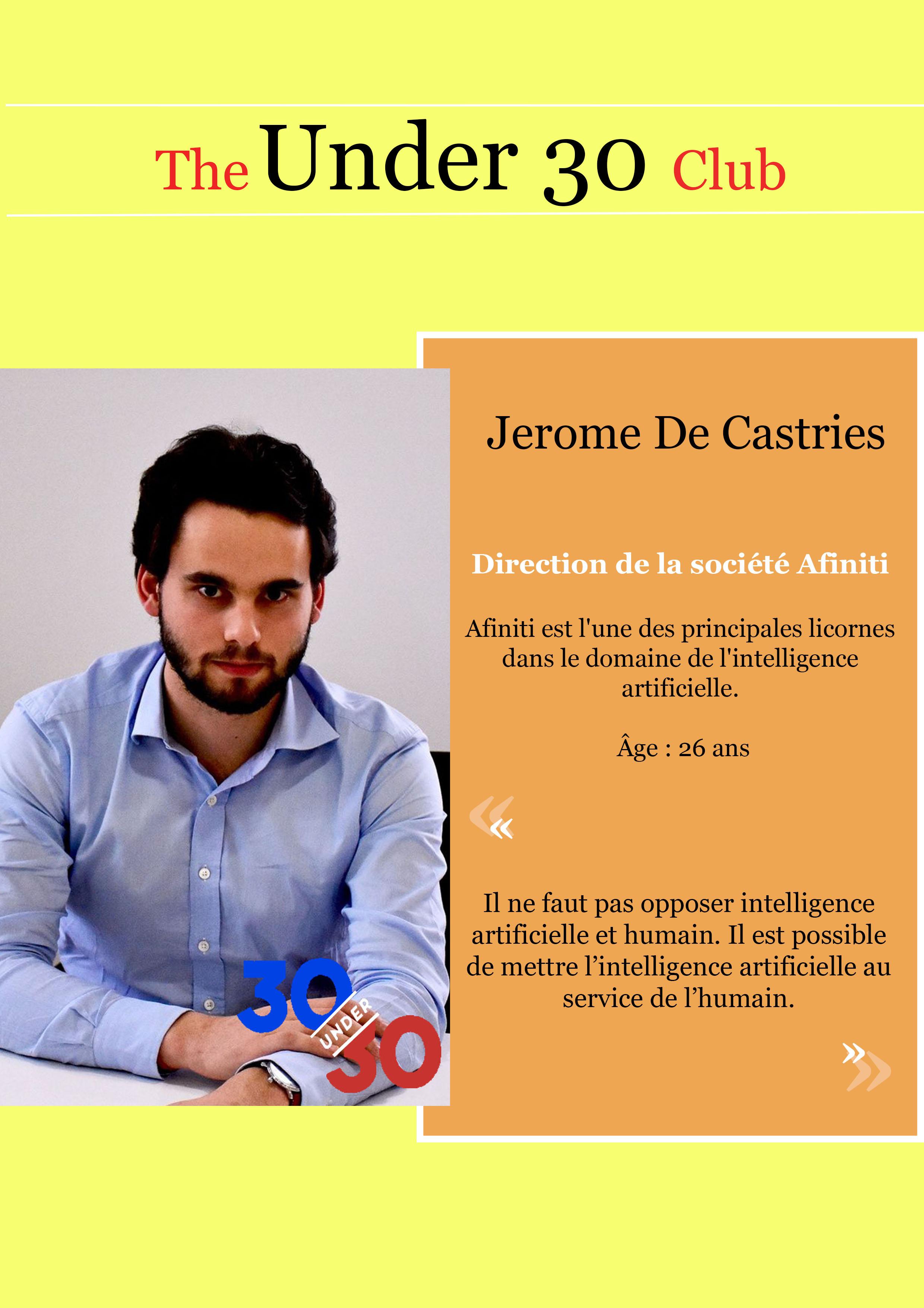 Jerome De Castries