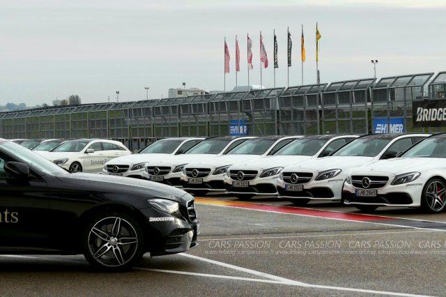 Mercedes-benz Driving Events avec Bridgestone
