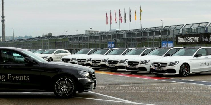 Mercedes-benz Driving Events avec Bridgestone