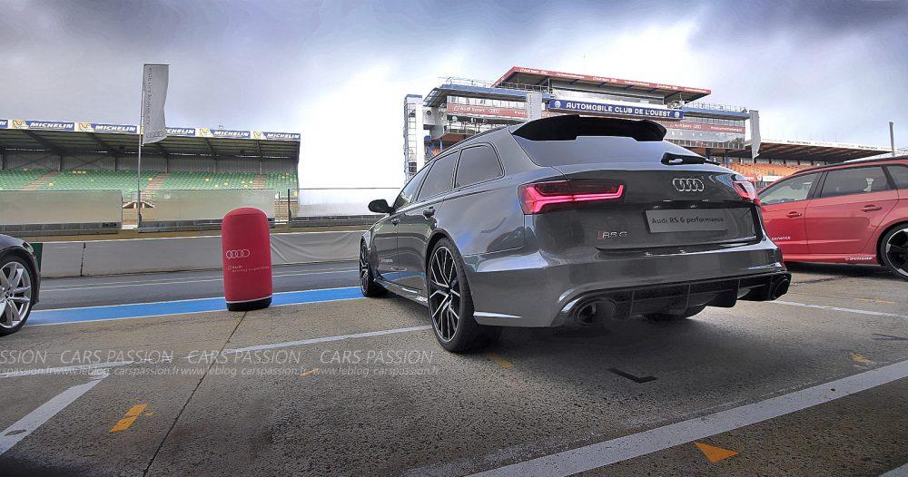 Essai Audi RS6 Avant Performance sur circuit 2016