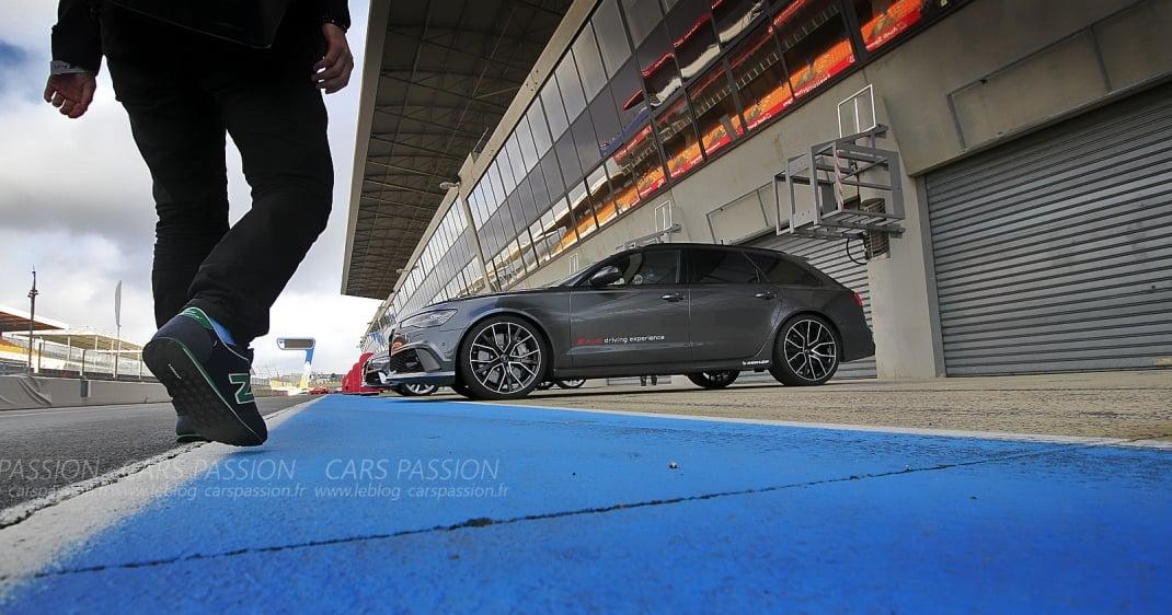 Essai Audi RS6 Avant Performance sur circuit