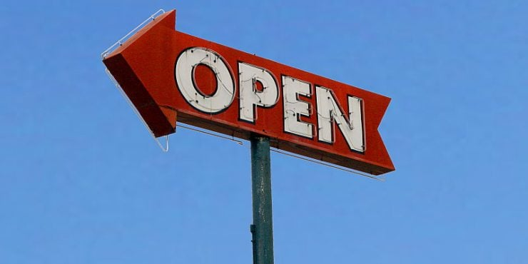 Open / Chuck Coker / cc Flickr