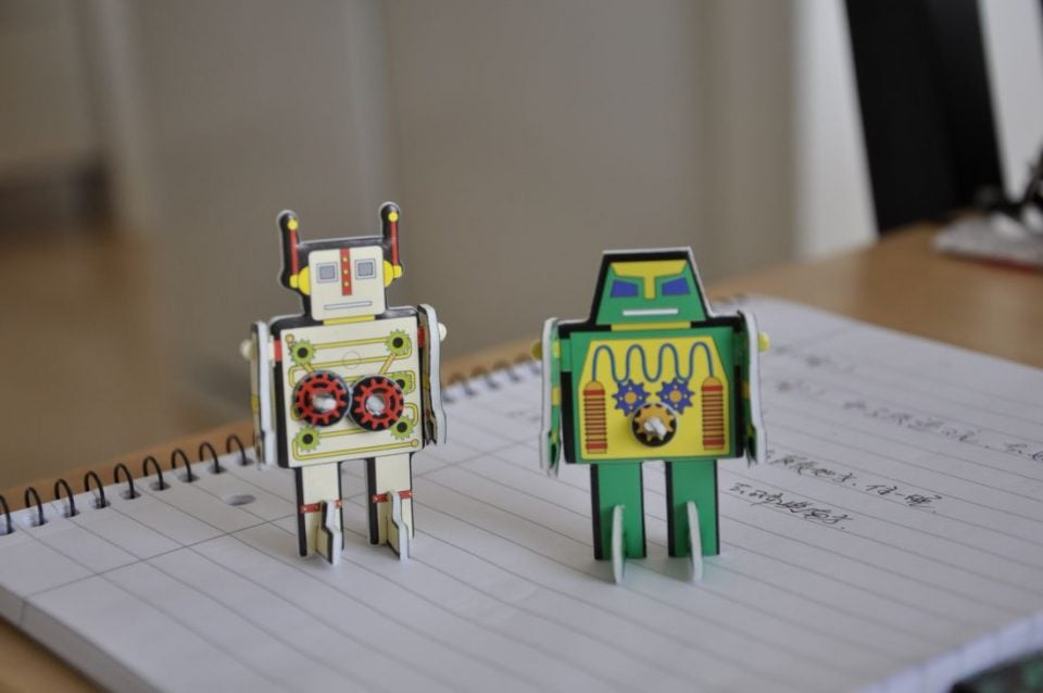 Robot / Roos mei / cc Flickr