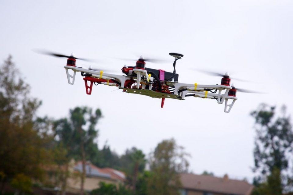 Drone First test Flight / Richard Unten / Flickr
