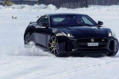 driving ice jaguar ftype svr