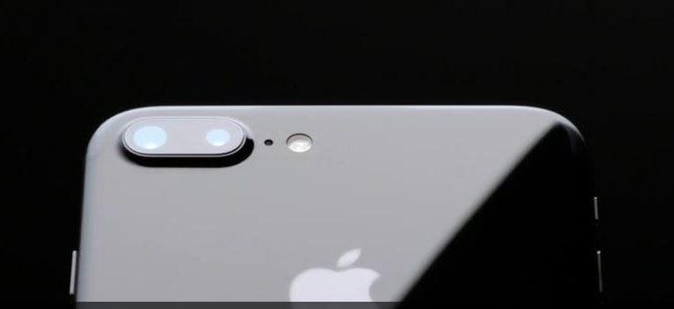 appareil photo iphone 8