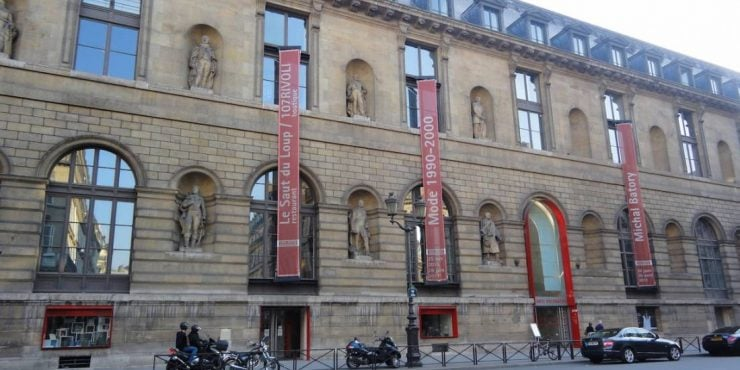 Entree Musee Des Arts Decoratifs Paris