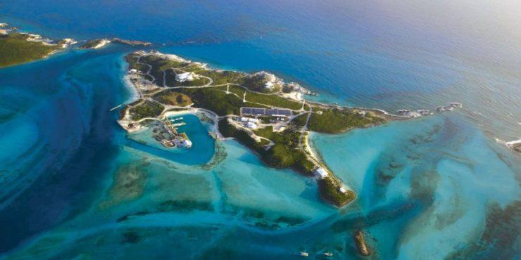 Blackadore Caye island