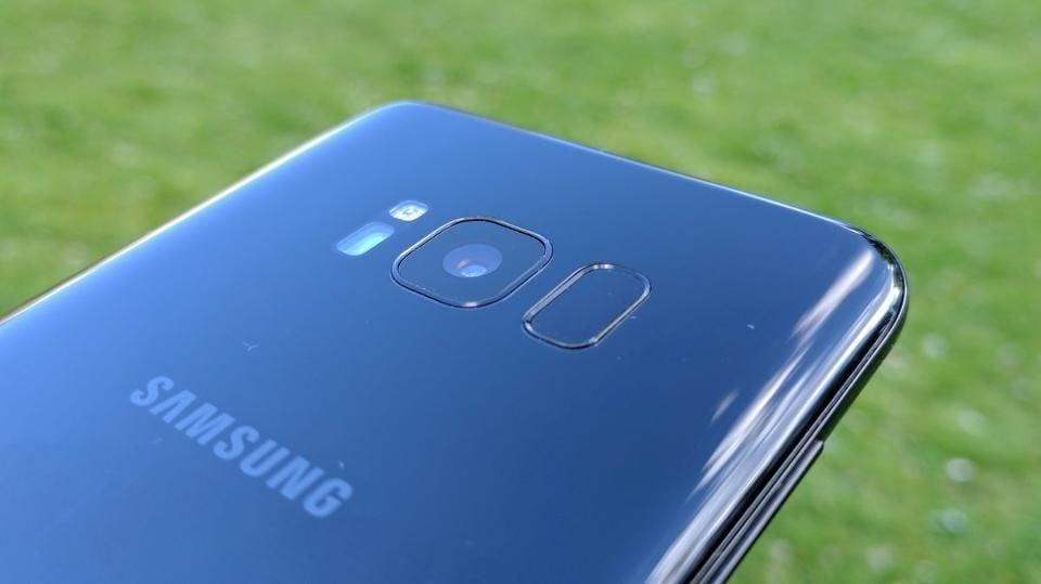Galaxy s8 le test complet design ecran performance for Photo ecran galaxy s8