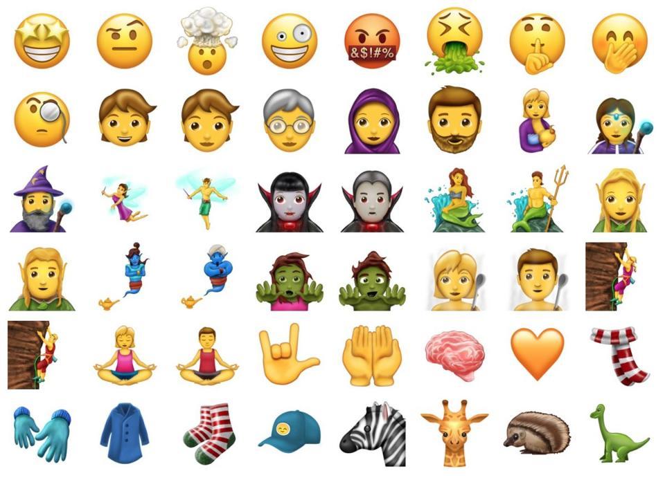 Emojis Unicode En Approuve 69 De Plus Forbes France