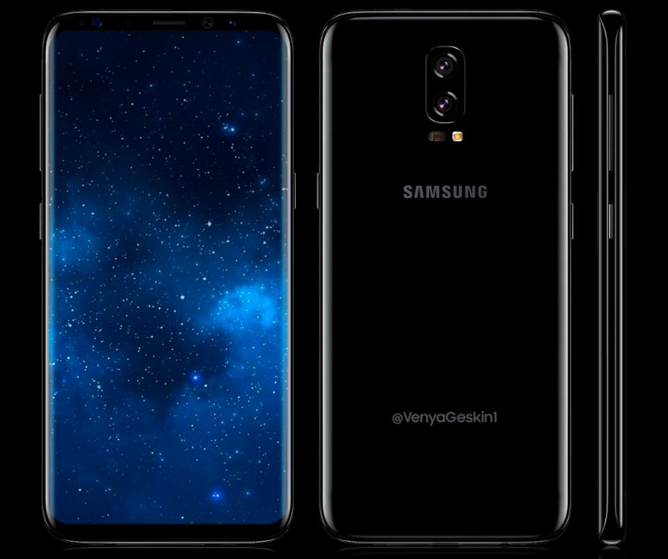 galaxy note 8 un tout nouveau design pour le smartphone. Black Bedroom Furniture Sets. Home Design Ideas
