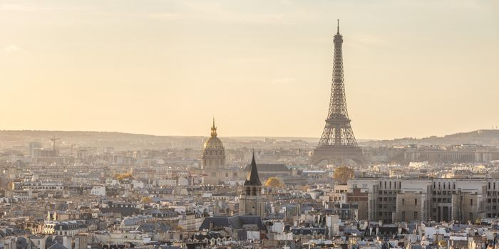 Panoramic of Eiffel tower and city of Paris / Sources Matteo Colombo Getty Images