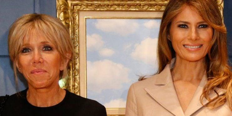 People : Melania Trump, une première dame seule et malheureuse!