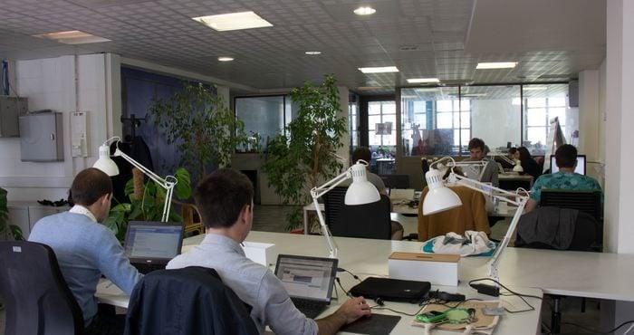 L'espace de co-working / Source La Ruche