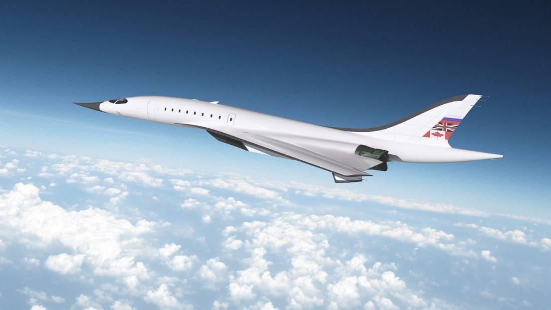 Ce Jet Supersonique De 120 Millions De Dollars