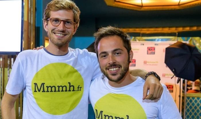Maxime Patte et Hugo Caffarel lancent Mmmh