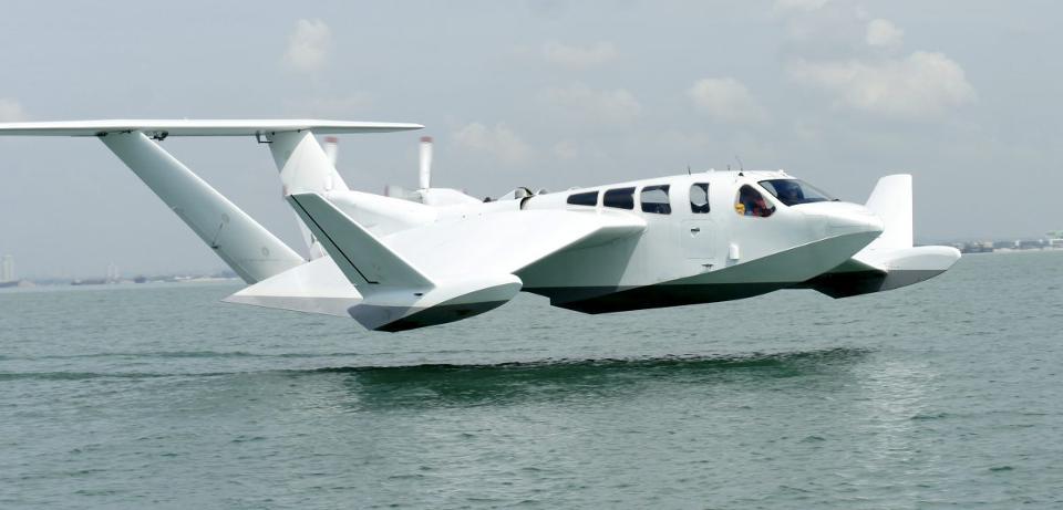 Airfish 8 : Cet Avion Marin Unique Va Changer Notre Façon De Voyager