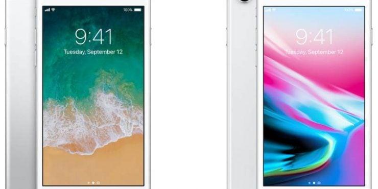 Iphone 6s vs iphhone 8