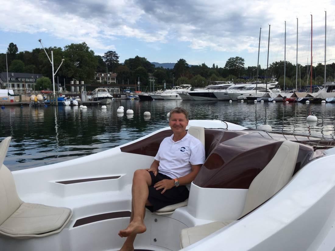 Pour Alain Thébault, patron de SeaBubbles, le temps est venu d'explorer de nouveaux horizons.