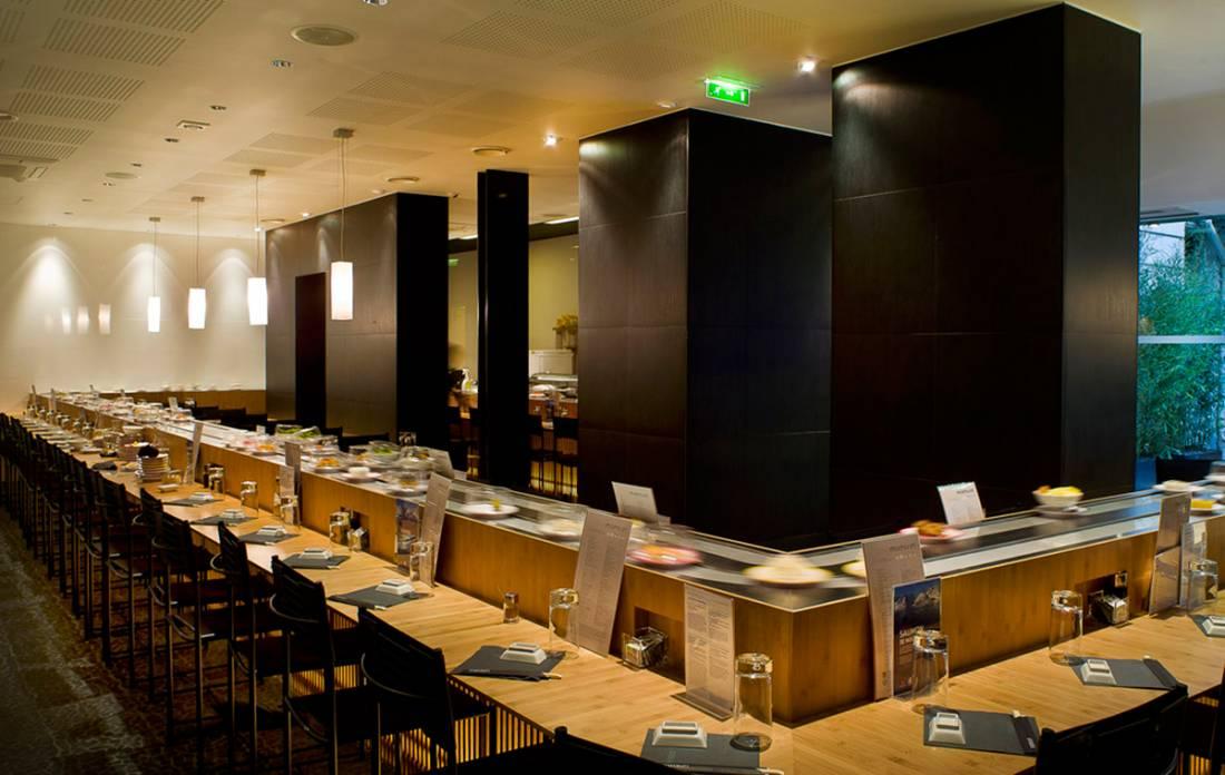 L 39 oeil de luxe magazine forbes france - Restaurant japonais tapis roulant paris ...