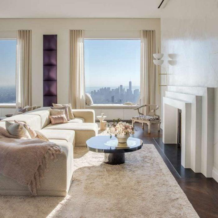 Dans Le Plus Haut Et Le Plus Cher Appartement De New York