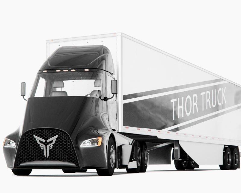 camions electriques la start up thor trucks veut d fier. Black Bedroom Furniture Sets. Home Design Ideas