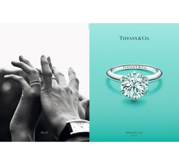 """2259fff683705 La campagne de publicité 2018   """"Croire en l Amour"""" (© Tiffany   Co)"""