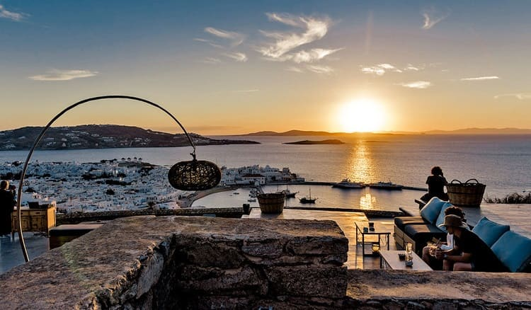 180 Sunset Bar Mykonos