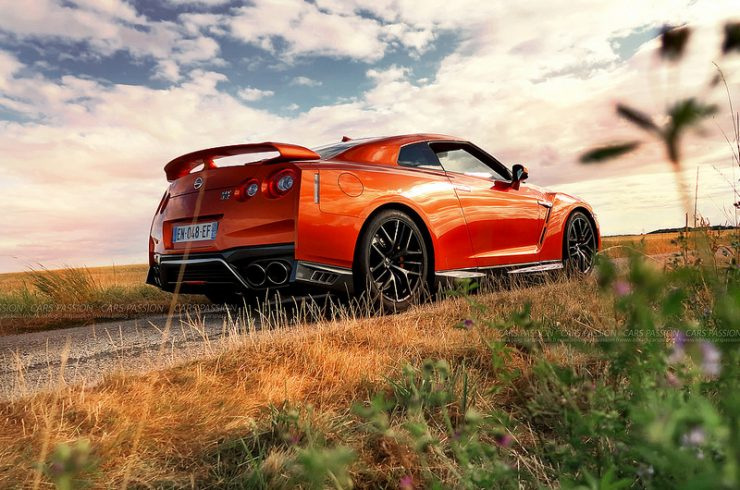 essai nissan gtr 2018 orange-test / photo Cars Passion