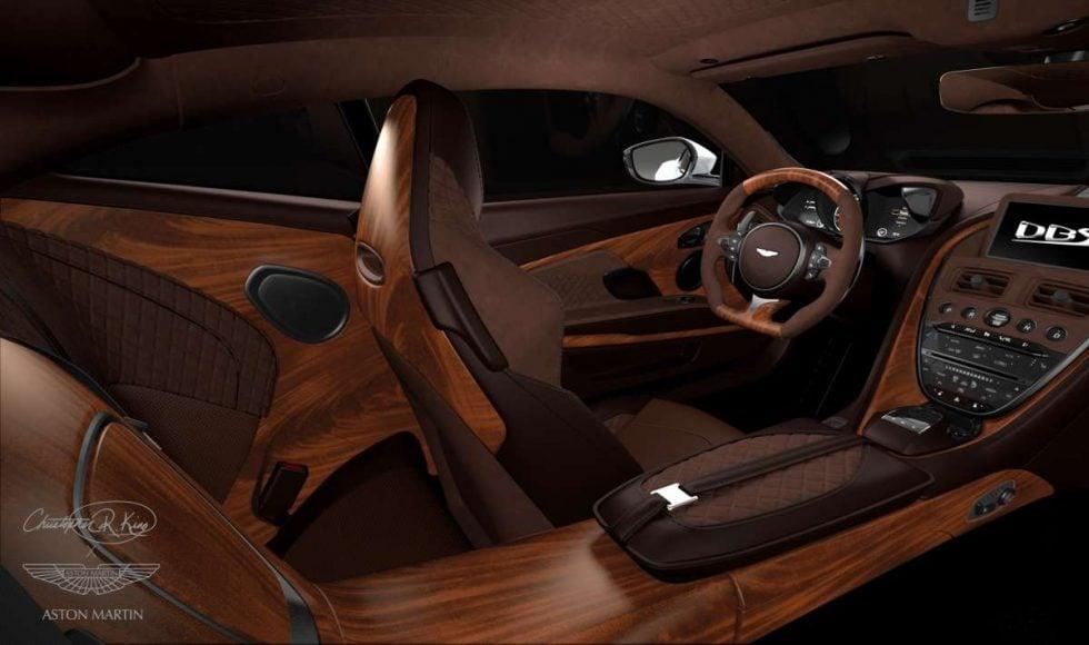 Aston martin white 3