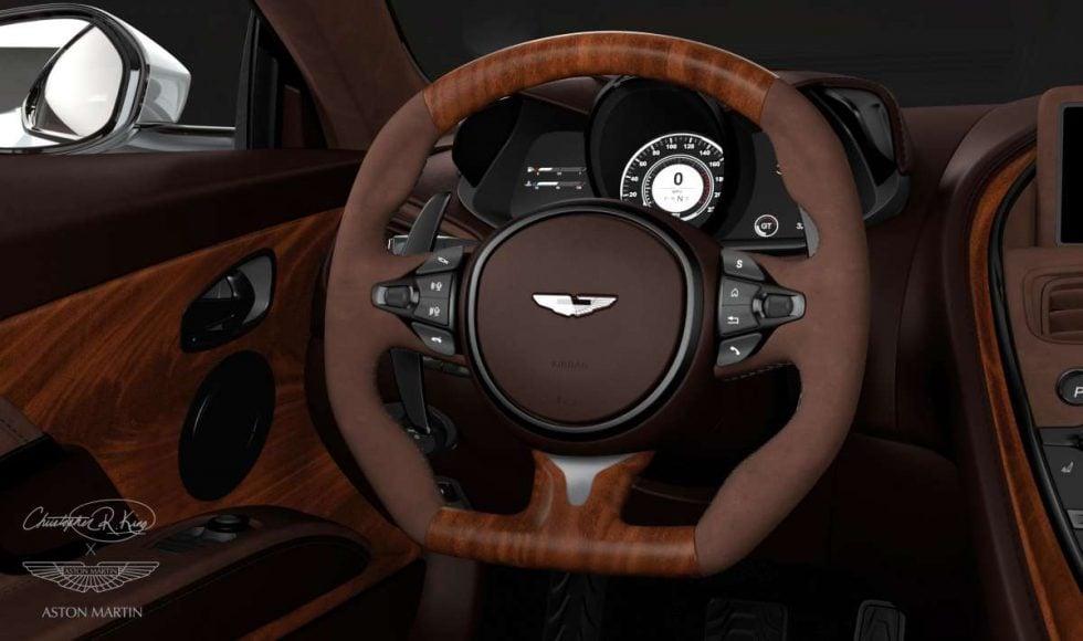 Aston martin white 5