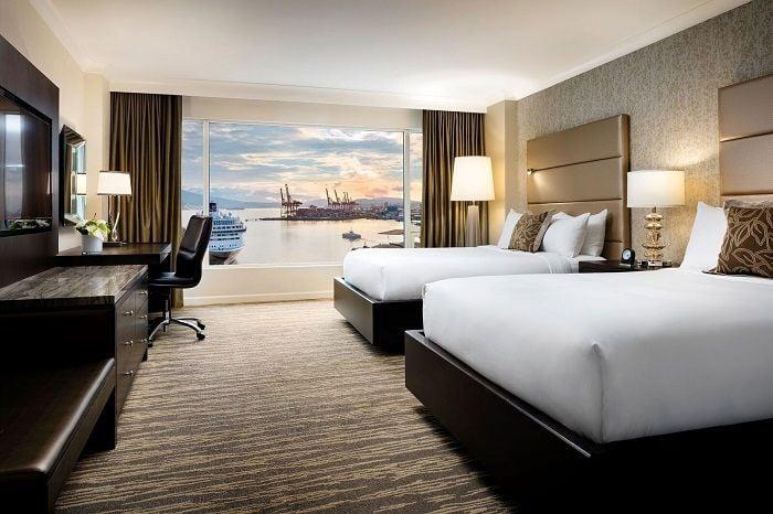 chambre Fairmont Vancouver