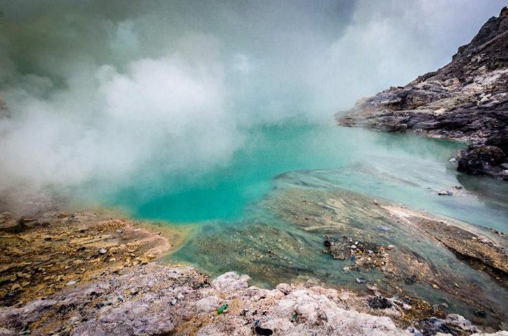 Lac Mont Kawah Ijen, Indonésie