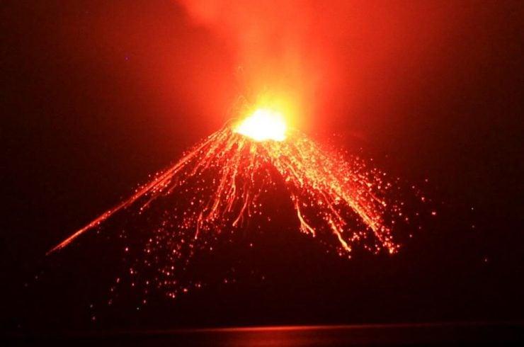 Volcan Krakatoa, Sumatra, Indonésie