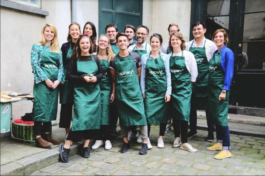 la startup food epicery