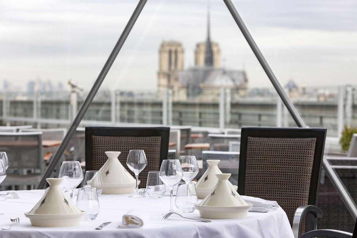 Les News Parisiennes de Plume Voyage : Guy Martin au sommet de l'Institut du Monde Arabe #plumevoyage @plumevoyagemagazine