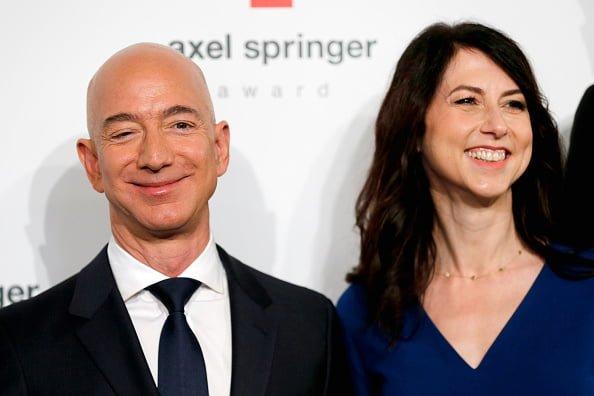 Jeff Bezos et sa femme MacKenzie