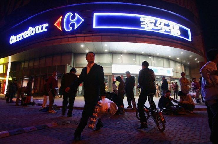 Carreefour en Chine