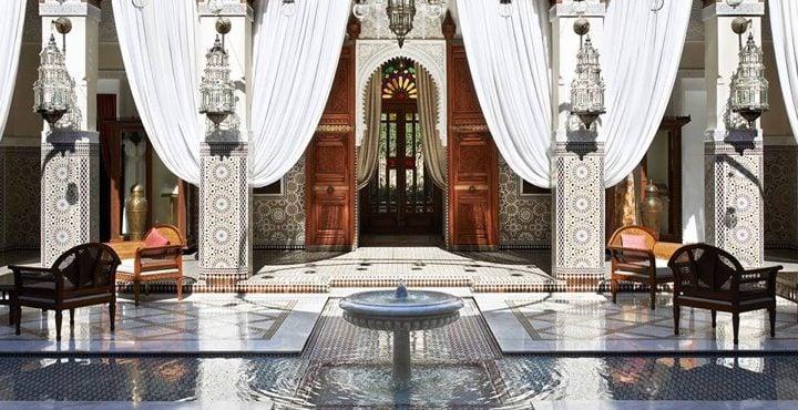 Marrakech : Le Royal Mansour, Elu Meilleur Hôtel Urbain du Monde