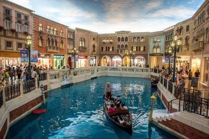 The Venetian Casino and Hotel