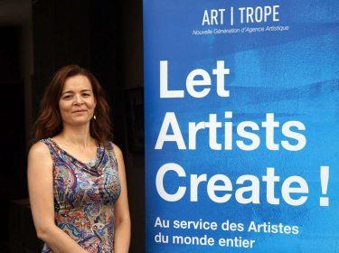 Virginie Tison la passion de l'art Art-Trope