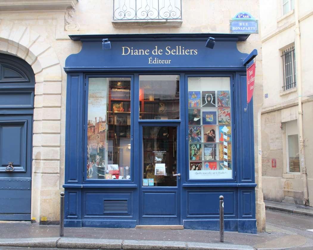 Diane De Selliers, Édition Au Singulier