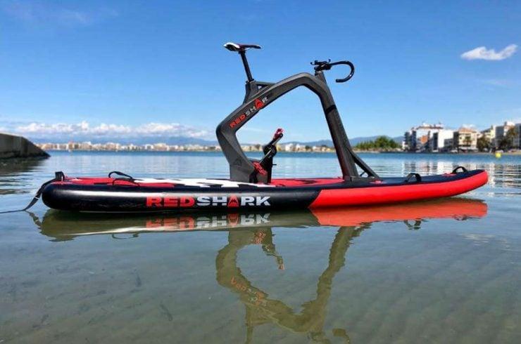 Vélo-planche RED SHARK