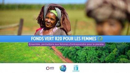 Fonds vert R20 changement climatique