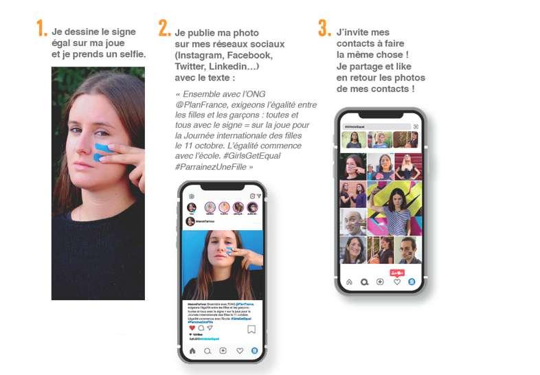 Guide selfie solidaire égalité filles garçons