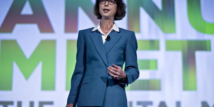 Abigail Johnson, présidente et CEO de Fidelity Investment