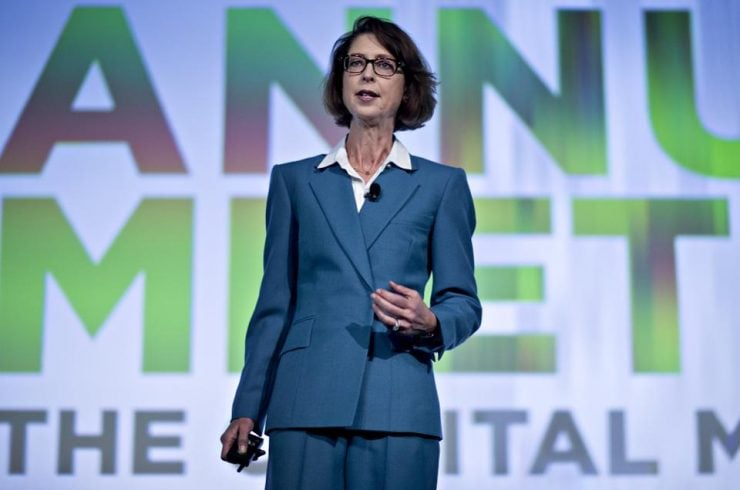 Abigail Johnson, présidente et CEO de Fidelity Investment
